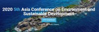 2020 5th Asia Conference on Environment and Sustainable Development (ACESD 2020)