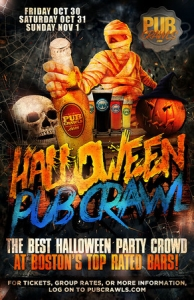 Official HalloWeekend Pub Crawl in Faneuil Hall, Boston (3 Day) - Oct 2020