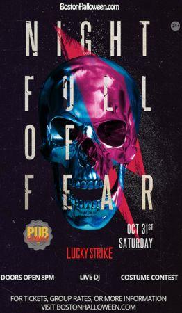 "Lucky Strike Club ""Night Full of Fear"" Halloween Party - October 31, 2020, Boston, Massachusetts, United States"