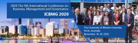 2020 The 9th International Conference on Business, Management and Governance (ICBMG 2020)