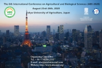 The 6th International Conference on Agricultural and Biological Sciences (ABS 2020)