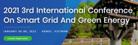 2021 3rd International Conference on Smart Grid and Green Energy (SGGE 2021)