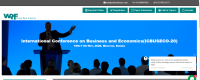 International Conference on Business and Economics(ICBUSECO-20)