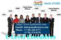 C-Level Executives Email Lists   C-Level Executive Mailing List   Mails STORE