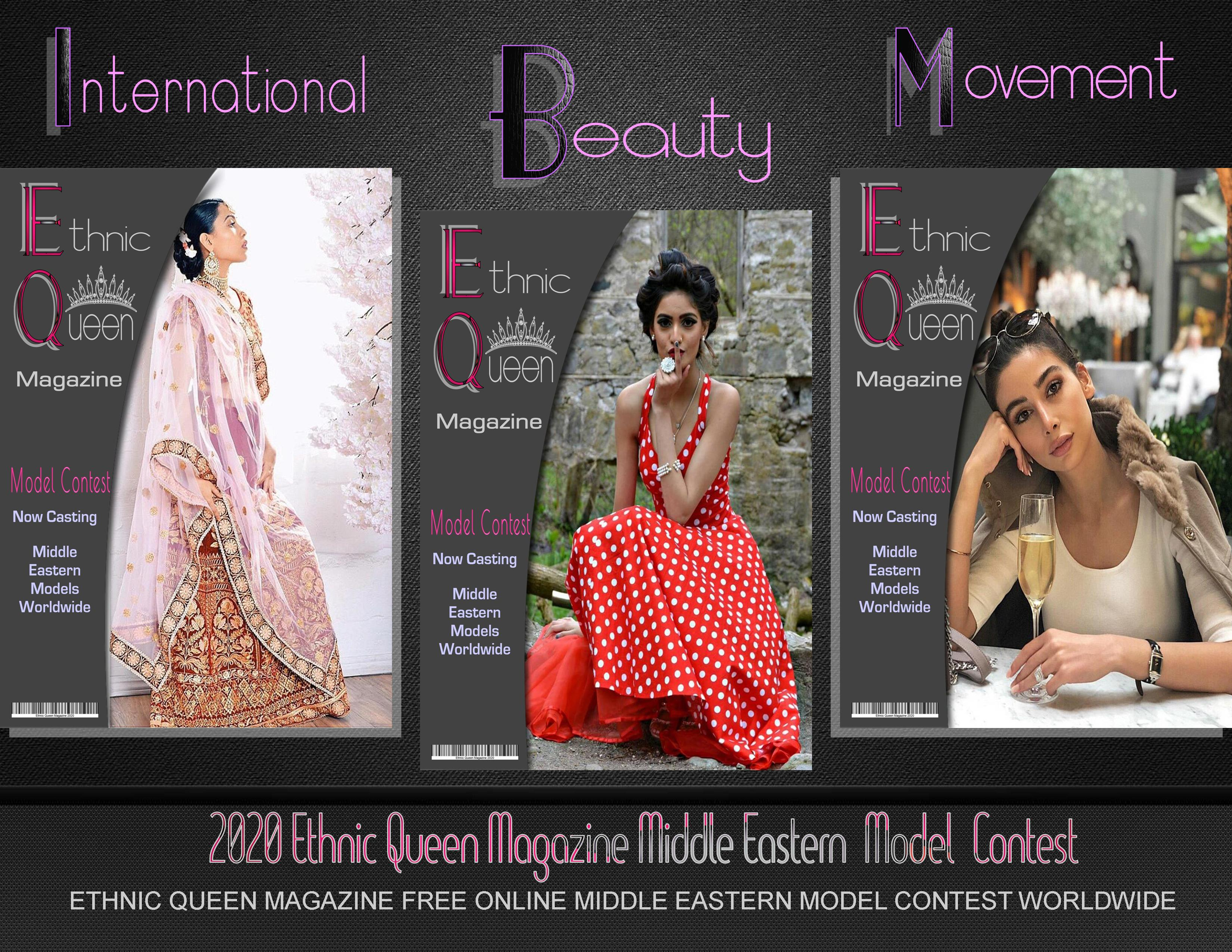 2020 Ethnic Queen Magazine Modeling Competition Online Competitions