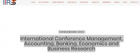 International Conference Management, Accounting, Banking, Economics and Business Research ICMABEBR -20