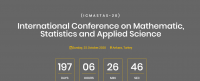 Objective International Conference on Mathematic, Statistics and Applied Science  ICMASTAS-20
