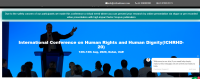 International Conference on Human Rights and Human Dignity(ICHRHD-20)