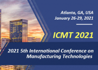 2021 5th International Conference on Manufacturing Technologies (ICMT 2021)