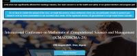 International Conference on Mathematical ,Computational Sciences and Management (ICMACOSCMA-20)