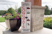 Pre-order Board and Brush Class of 2020 wood signs