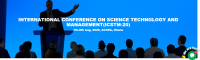 INTERNATIONAL CONFERENCE ON SCIENCE TECHNOLOGY AND MANAGEMENT(ICSTM-20)