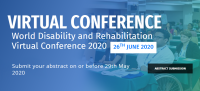 World Disability and Rehabilitation Virtual Conference 2020 (WDRVC 2020)
