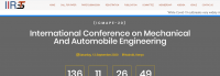 International Conference on Mechanical And Automobile Engineering (ICMAPE-20)