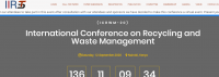 International Conference on Recycling and Waste Management (ICRWM-20)