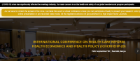 International Conference on Health Care Reform, Health Economics and Health Policy ICHCRHEHP -20