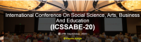International Conference On Social Science, Arts, Business And Education (ICSSABE-20)