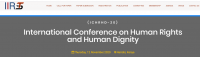 International Conference on Human Rights and Human Dignity (ICHRHD-20)
