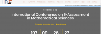 International Conference on E-Assessment in Mathematical Sciences (ICEMS-20)