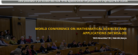 World Conference on Mathematical Sciences and Applications WCMSA