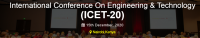 International Conference On Engineering & Technology (ICET-20)