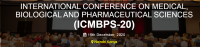 INTERNATIONAL CONFERENCE ON MEDICAL, BIOLOGICAL AND PHARMACEUTICAL SCIENCES (ICMBPS-20)