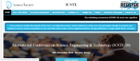 International Conference on Science, Engineering & Technology (ICSTE-20)
