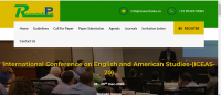 International Conference on English and American Studies-(ICEAS-20)