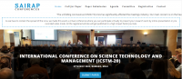 INTERNATIONAL CONFERENCE ON SCIENCE TECHNOLOGY AND MANAGEMENT (ICSTM-20)
