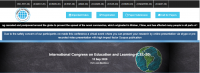 International Congress on Education and Learning-(CEL-20)