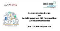 Communication Design for Social Impact and CSR Partnerships: A Virtual Masterclass