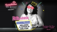 HERlarious – Virtual Reality: Wellbeing and Humour in Isolation