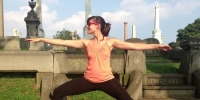 Yoga in the Cemetery Goes Virtual