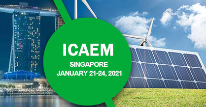 2021 The 4th International Conference on Advanced Energy Materials (ICAEM 2021), Singapore