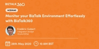 Webinar: Monitor your BizTalk Environment Effortlessly with BizTalk360