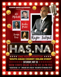 'HAS.NA' - (One Hour Nonstop) South Asian Comedy