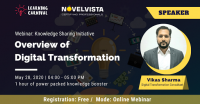 FREE Webinar on Overview of Digital Transformation