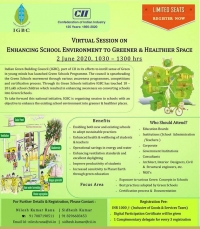 IGBC's Virtual Session on Enhancing School Environment to Greener and Healthier Spaces