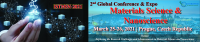 2nd Global Conference & Expo on Materials Science and Nanoscience