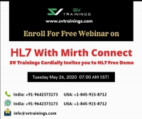 HL7+ Mirth Connector Course Online Coaching New Batch Starting