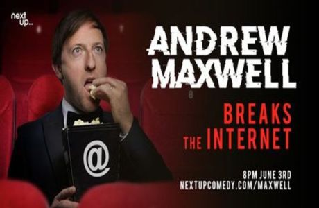 Andrew Maxwell Breaks The Internet // Live Stand-Up Comedy, London, England, United Kingdom