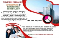 Webinar on 3D Printing Technnology in Healthcare