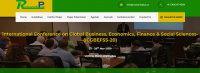 International Conference on Global Business, Economics, Finance & Social Sciences-(ICGBEFSS-20)