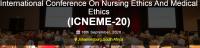 International Conference On Nursing Ethics And Medical Ethics (ICNEME-20)