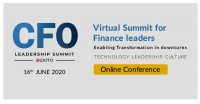 CFO Leadership Summit - Online Conference