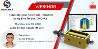Simulate your Solenoid Actuators Using EMS for SOLIDWORKS
