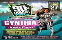 90's House Party Featuring Freestyle Queen Cynthia