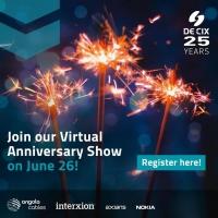 De-Cix Virtual 25 Years Anniversary Show