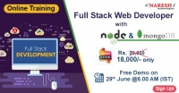 Full Stack Web Developer with Node and MongoDB Online Training