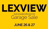Lexview Annual Garage Sale